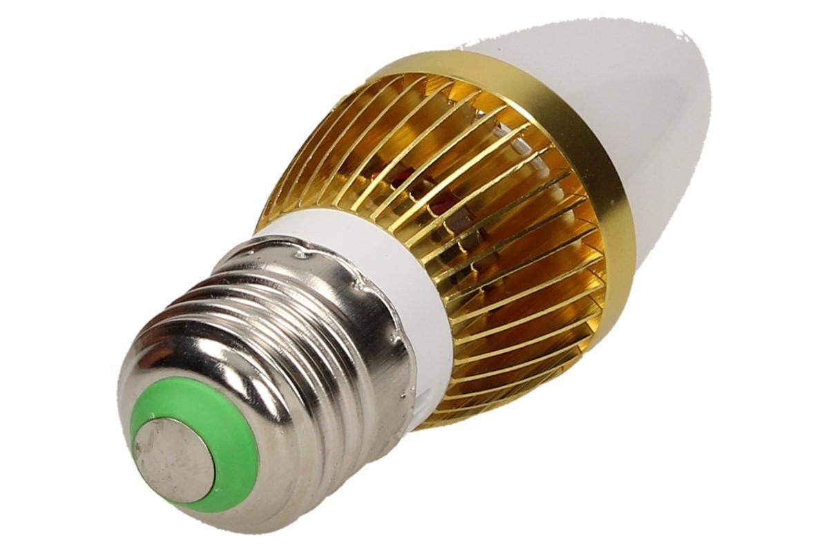 Foto 14 - LED úsporná žárovka RGB na dálkové ovládání 3W