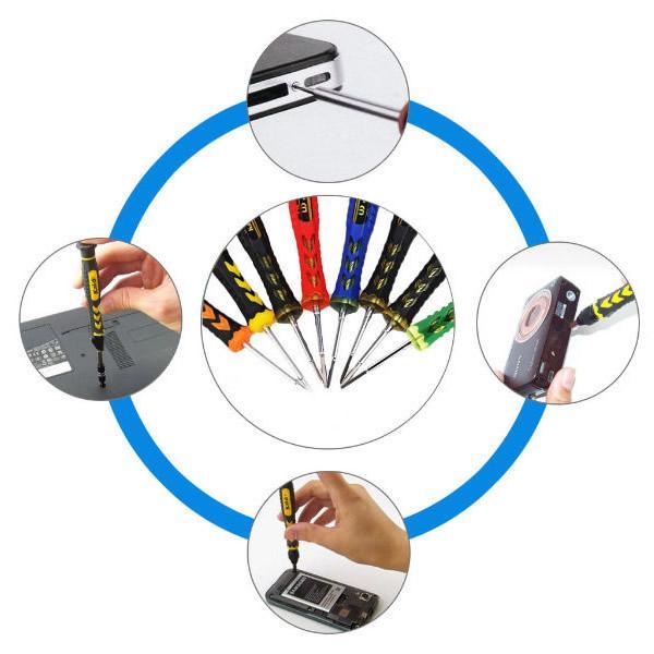 Foto 7 - Sada nářadí na opravu telefonů, tabletů atd.