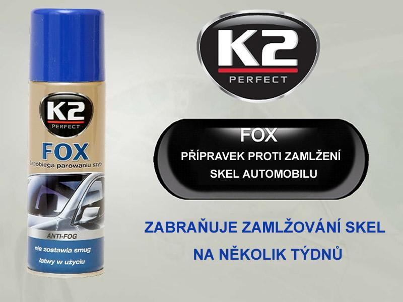 Foto 7 - K2 FOX 200 ml - přípravek proti zamlžování skel