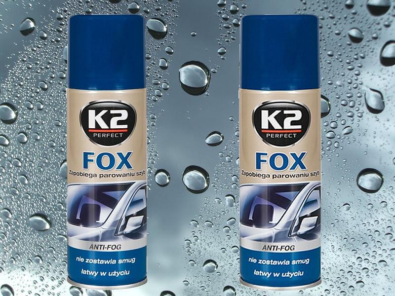 Foto 9 - K2 FOX 200 ml - přípravek proti zamlžování skel