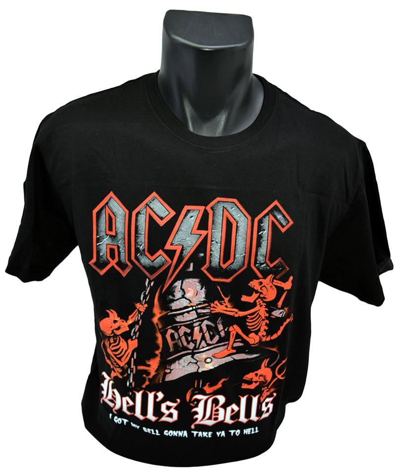 Foto 5 - Tričko AC/DC HELLS BELLS 001