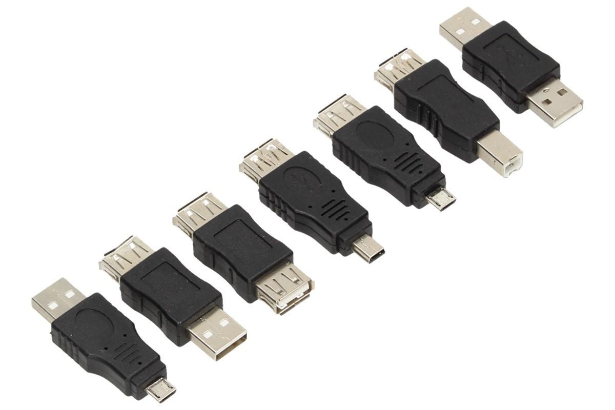 Foto 6 - USB redukce sada 7 kusů