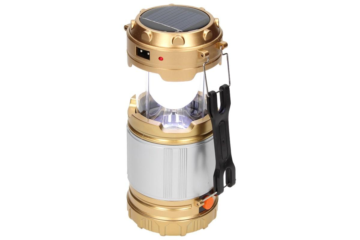 Foto 11 - Lampa pro kemping Profi + solární nabíječka 2v1
