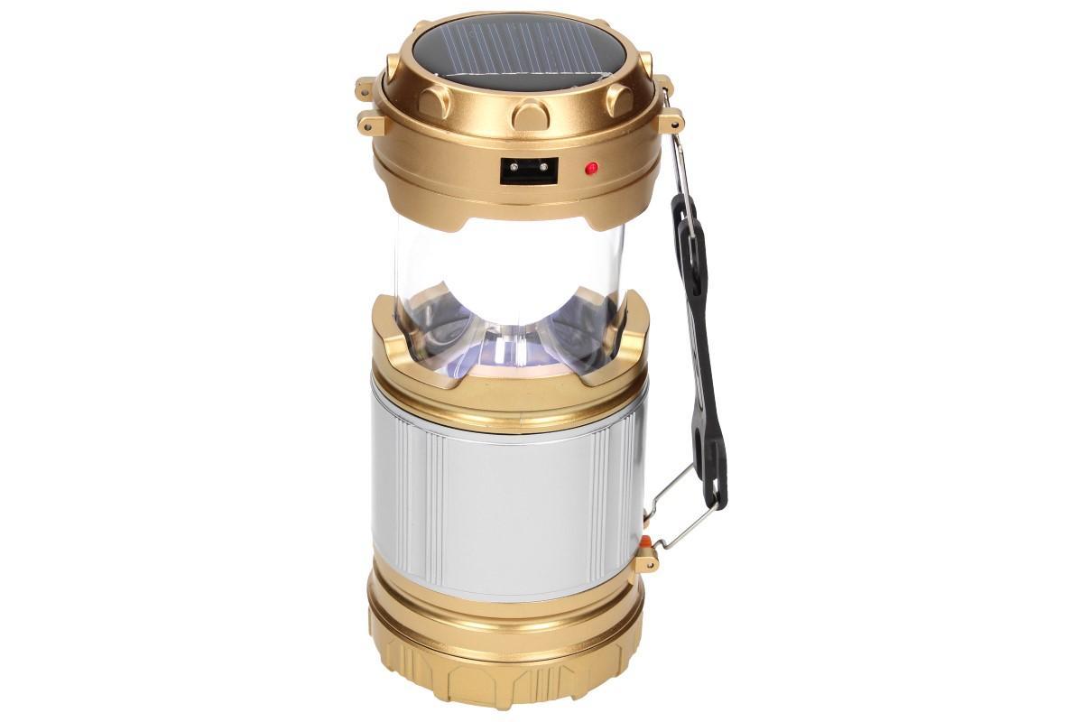 Foto 12 - Lampa pro kemping Profi + solární nabíječka 2v1