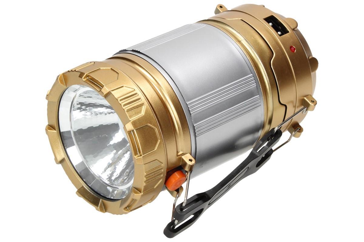 Foto 14 - Lampa pro kemping Profi + solární nabíječka 2v1