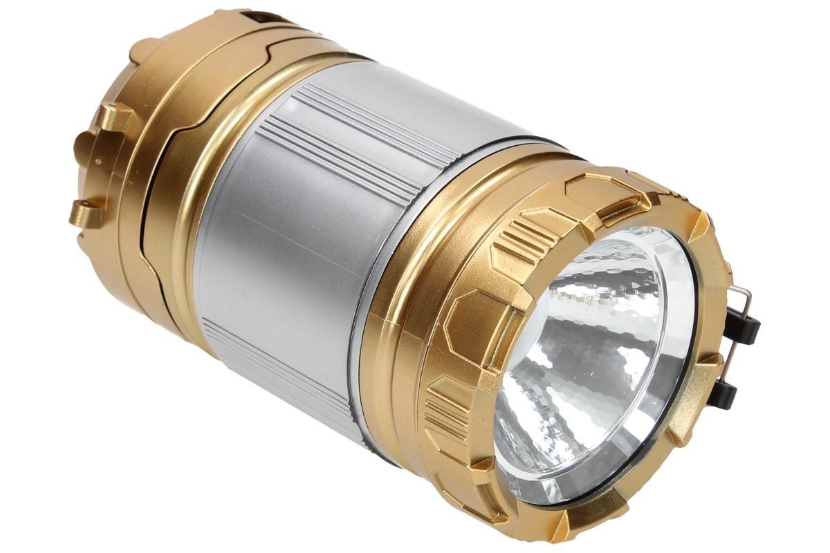 Foto 15 - Lampa pro kemping Profi + solární nabíječka 2v1