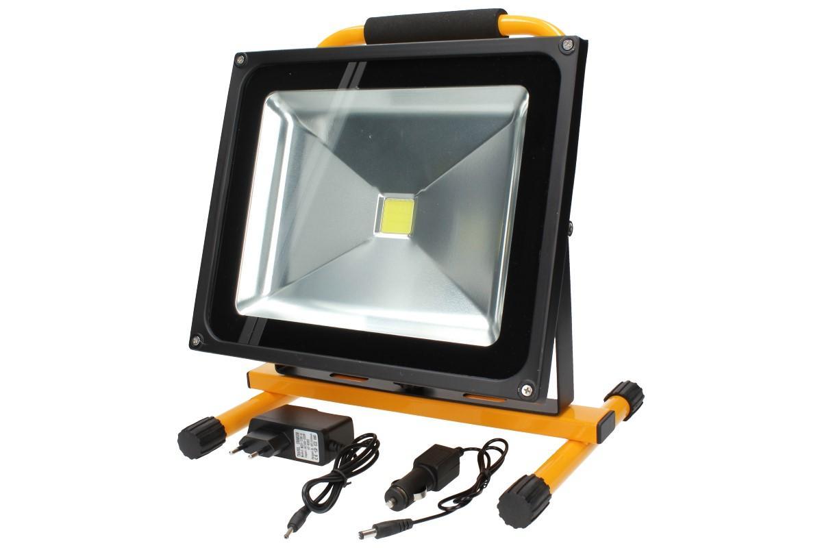 Foto 11 - Přenosný nabíjecí LED reflektor 50W