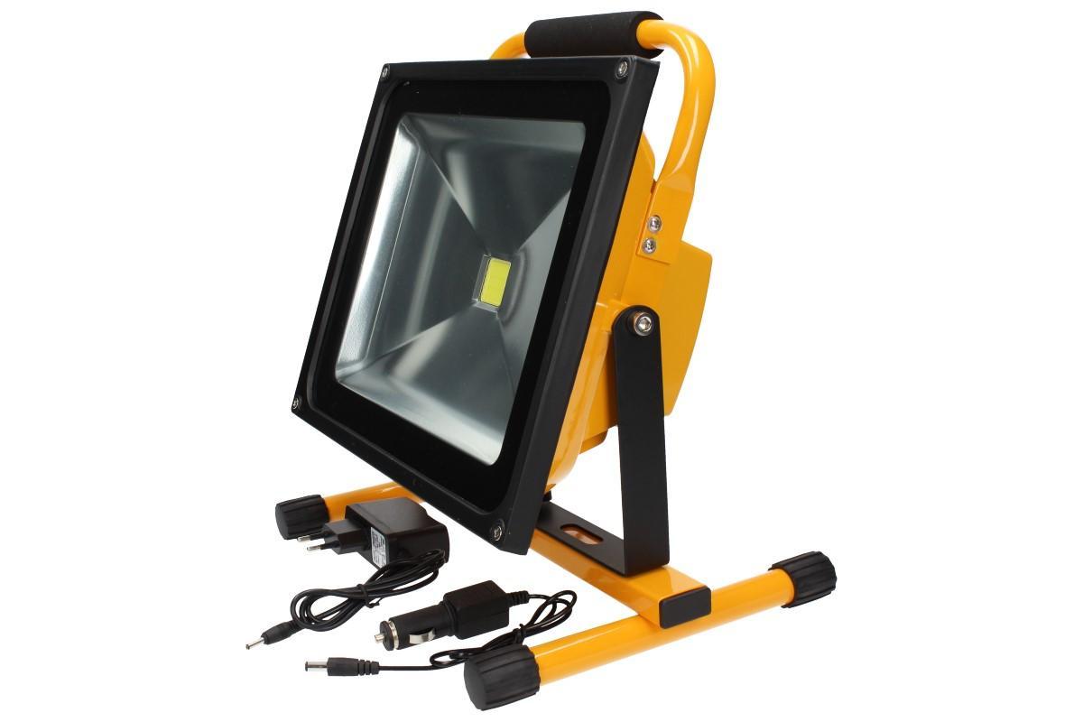 Foto 12 - Přenosný nabíjecí LED reflektor 50W