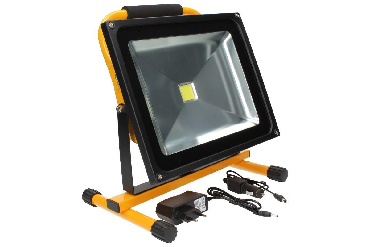 Foto 17 - Přenosný nabíjecí LED reflektor 50W