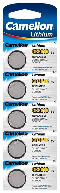 Foto 6 - Baterie Camelion CR2016