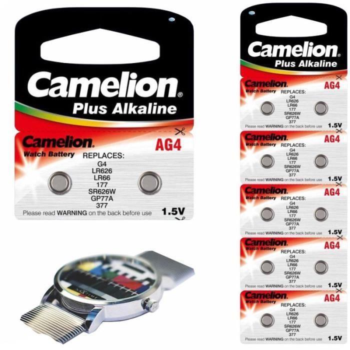 Foto 5 - Baterie Camelion AG4 1.5V Alkaline LR626 377