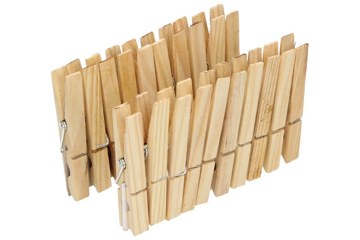 Foto 8 - Kolíček dřevěný 20 kusů Klasik