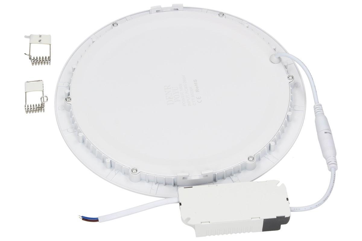 Foto 5 - LED stropní panel zápustný 18W kulatý