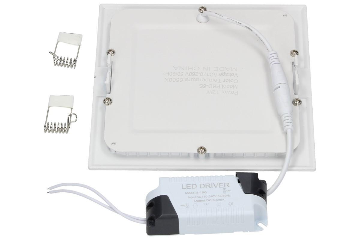 Foto 5 - LED stropní panel zápustný 12W čtverec
