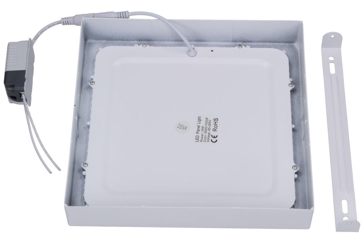 Foto 5 - LED stropní panel 18W nezápustný čtvercový