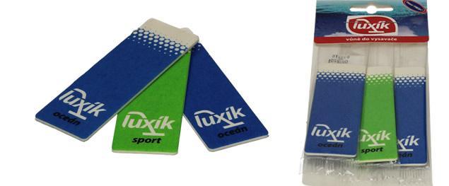 Foto 3 - Luxík - vůně do vysavače, sada 3 ks