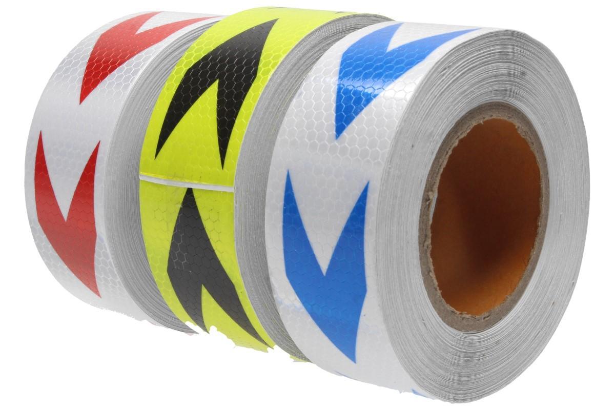 Foto 23 - Reflexní lepící páska 25m šipky