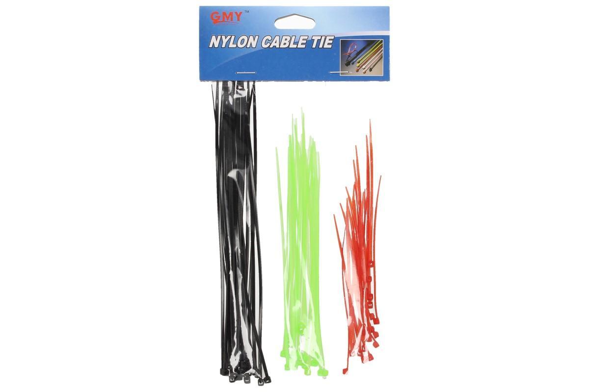 Foto 5 - Stahovací pásky barevné 60 ks