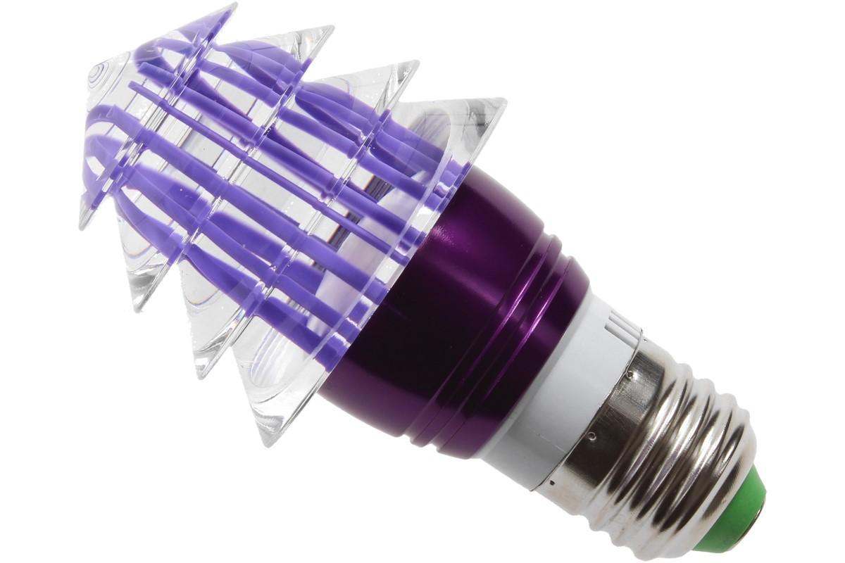 Foto 9 - LED tvarová RGB žárovka 3W na ovládání