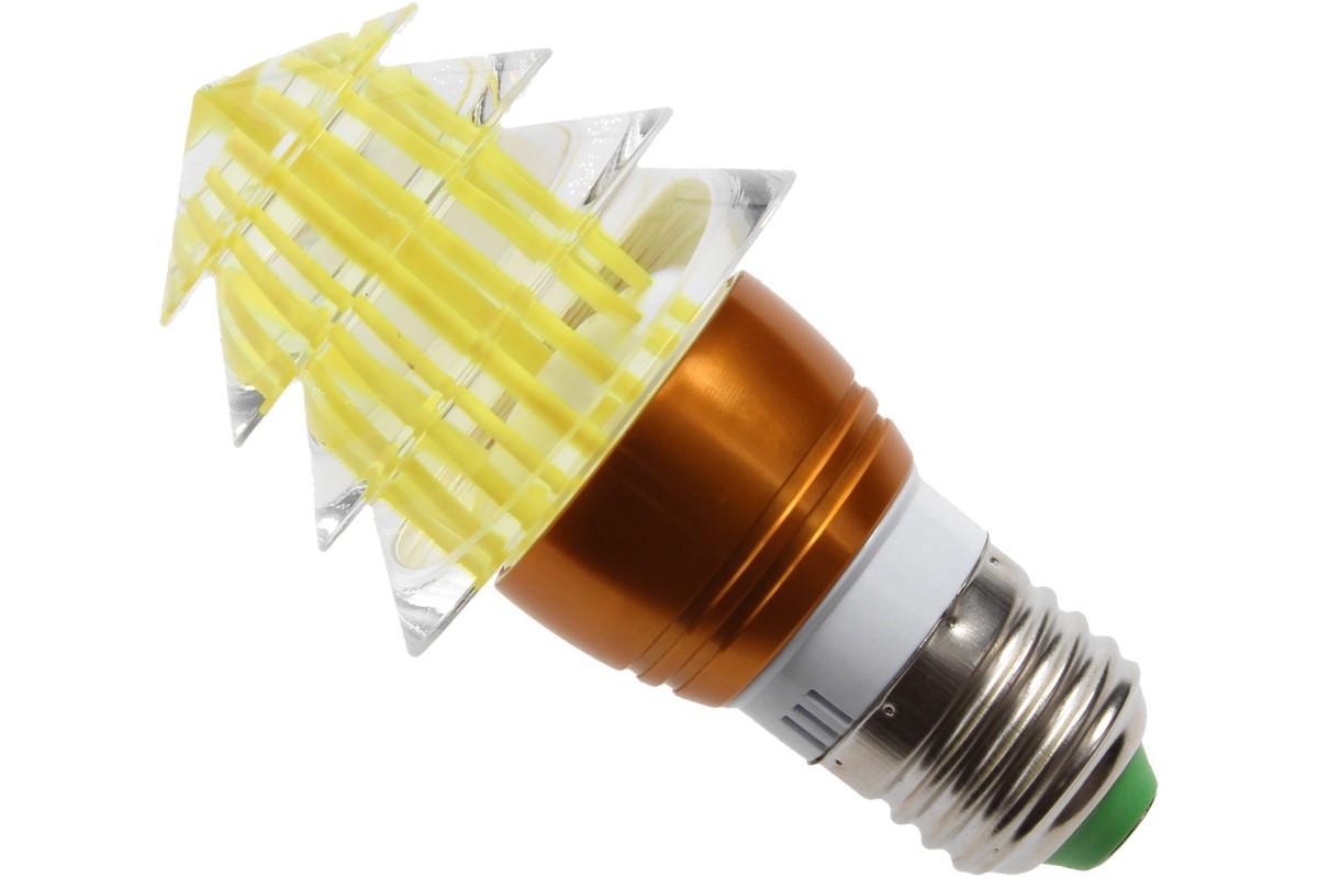 Foto 10 - LED tvarová RGB žárovka 3W na ovládání