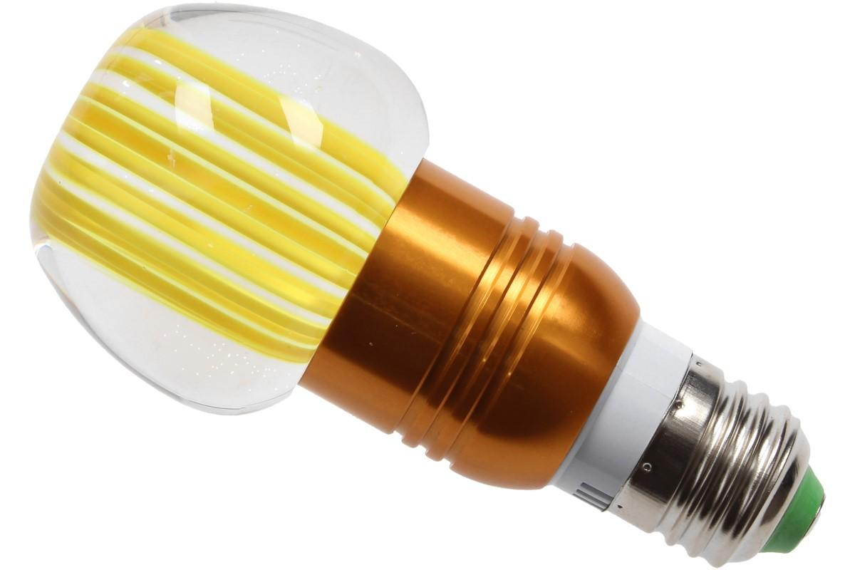 Foto 11 - LED tvarová RGB žárovka 3W na ovládání