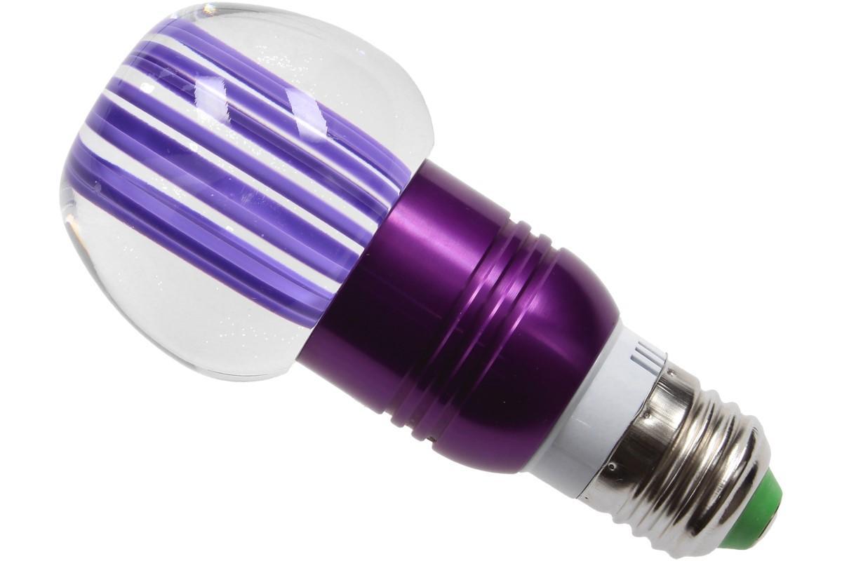 Foto 12 - LED tvarová RGB žárovka 3W na ovládání