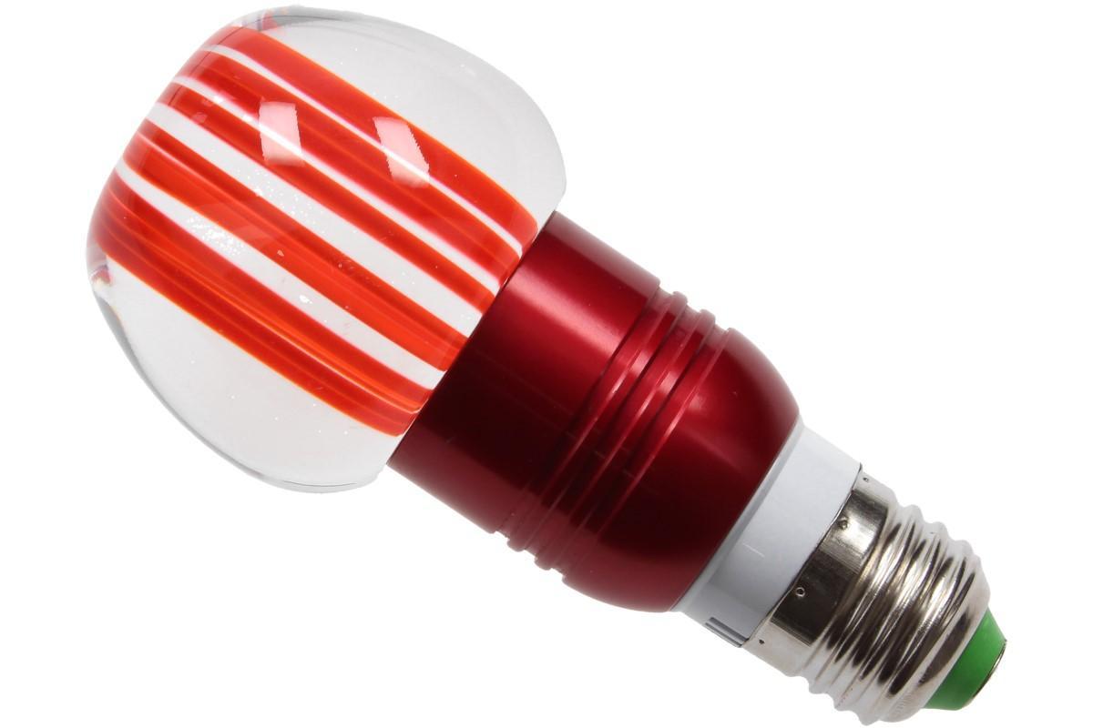 Foto 13 - LED tvarová RGB žárovka 3W na ovládání