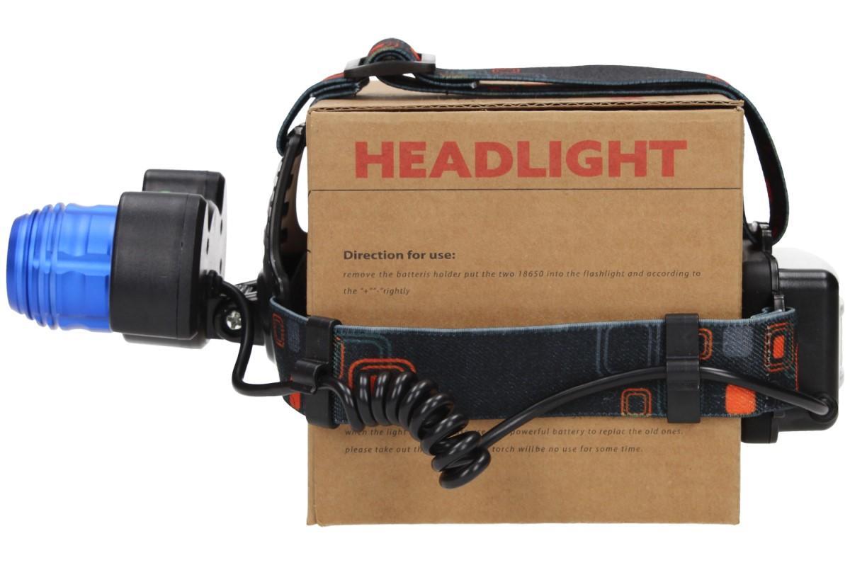 Foto 18 - Nabíjecí výkonná čelovka HEADLIGHT se třemi světlomety