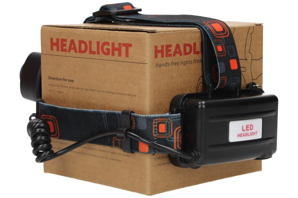 Foto 19 - Nabíjecí výkonná čelovka HEADLIGHT se třemi světlomety