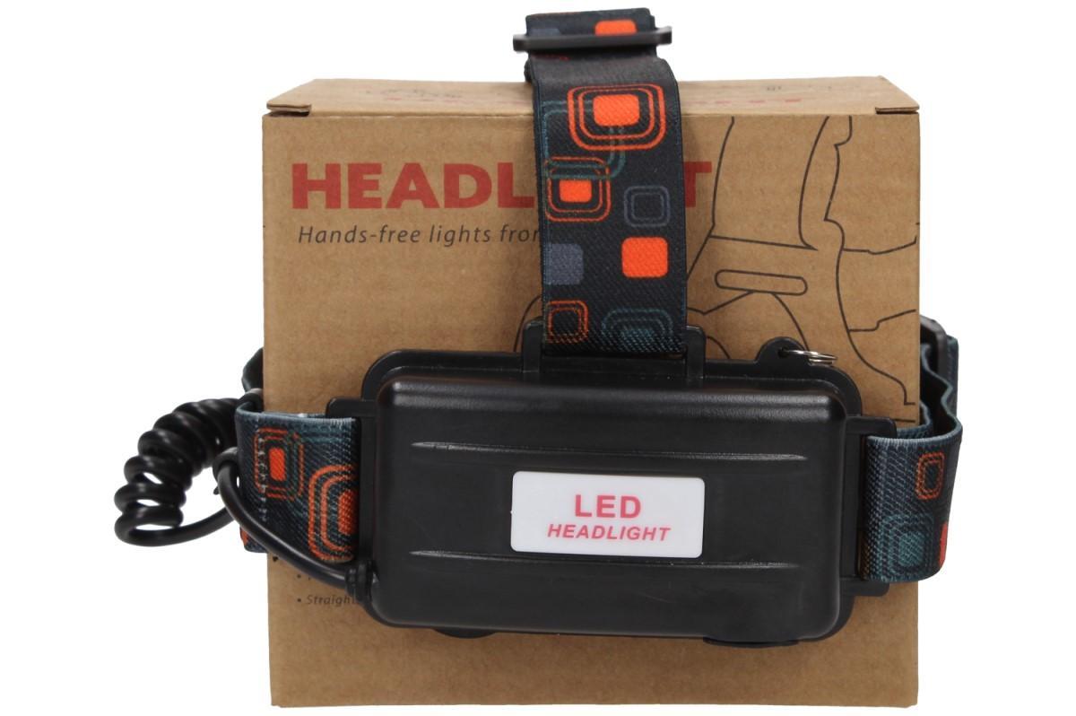 Foto 20 - Nabíjecí výkonná čelovka HEADLIGHT se třemi světlomety