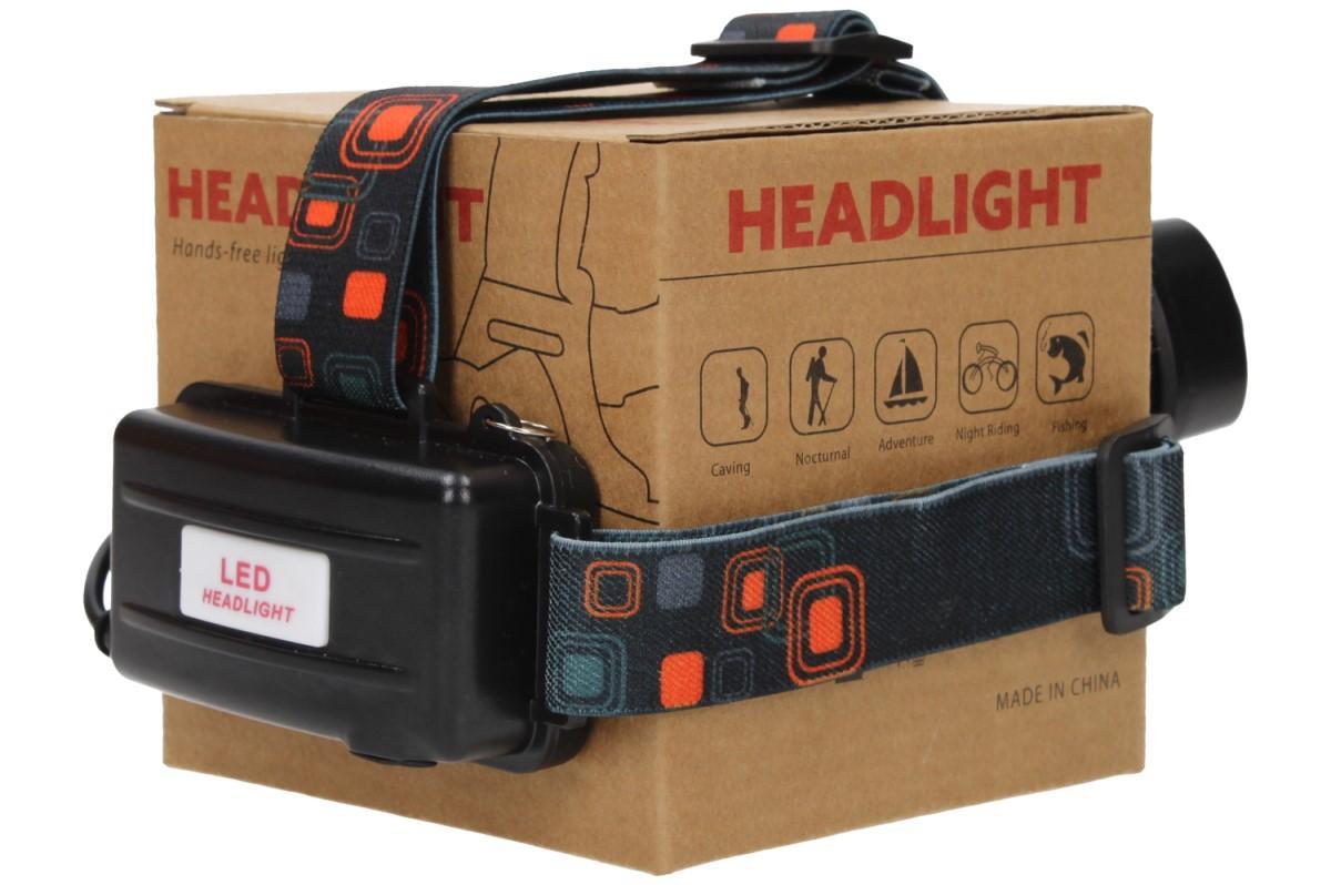 Foto 21 - Nabíjecí výkonná čelovka HEADLIGHT se třemi světlomety