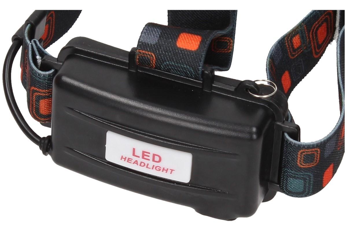 Foto 23 - Nabíjecí výkonná čelovka HEADLIGHT se třemi světlomety