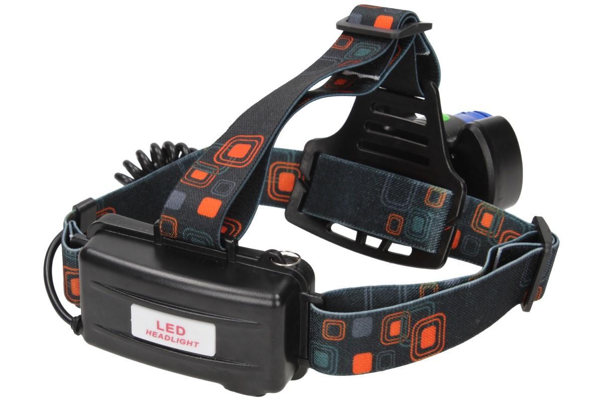 Foto 25 - Nabíjecí výkonná čelovka HEADLIGHT se třemi světlomety