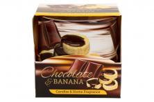 Foto 5 - Vonná svíčka banán s čokoládou