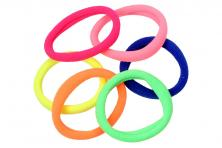 Foto 5 - Pevné barevné gumičky do vlasů Sada 6 kusů