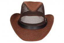 Foto 6 - Letní klobouk s děrováním a páskem