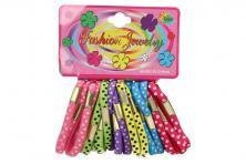 Foto 6 - Sada různobarevných gumiček do vlasů 24ks