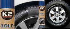 K2 BOLD 600 ml - pěna na ošetření pneumatik