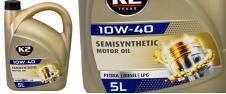 K2 10W-40 BENZIN, DIESEL, LPG 5 l - motorový olej