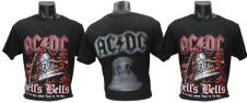 Tričko AC/DC Hells Bells červené