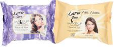Lara vlhčené ubrousky 25 kusů Make-UP
