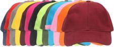 Kšiltovka HeadWear 100% bavlna nastavitelná barevná