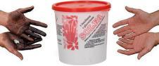 Čistící pasta na ruce s lanolínem a glycerínem