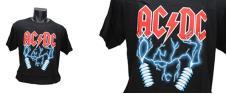 Tričko AC/DC Elektrický výboj