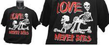 Tričko Love never dies