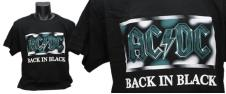 Tričko AC/DC Back in black