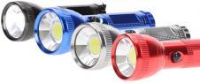 Kovová LED svítilna VELKÁ