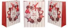 Vánoční dárková taška Merry Christmas 32x26 cm