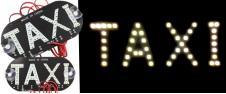LED světelná značka taxi 14 x 7 cm