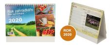 Kalendář 2020 Rok zahrádkáře 22 x 17 cm